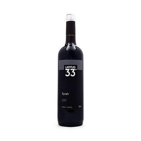 Vinho Latitud 33° Syrah 750ml