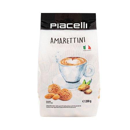 Biscoito de Amêndoas Amarettini Piacelli 200gr
