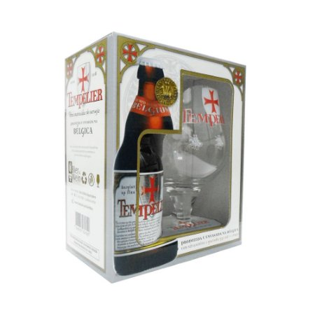 Kit Cerveja Tempelier 330ml + Taça