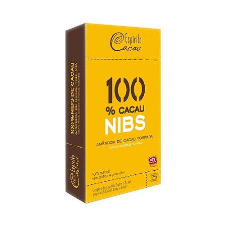 Nibs de Cacau Sem Glúten e Sem Lactose Espírito Cacau 150g