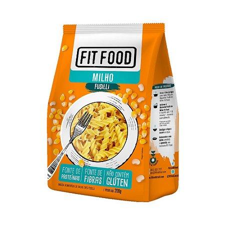 Massa Fit Food Fusilli de Milho 200g