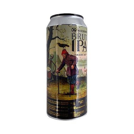 Cerveja Bodebrown Brut Ipa Sorachi Ace Lata 473ml