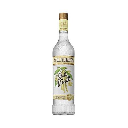 Vodka Stolichnaya Stoli Vanil 750ml