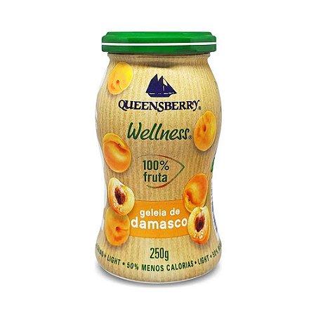 Geleia Queensberry de Damasco 100% Fruit  250g