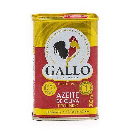 Azeite de Oliva Gallo Tipo Único Lata 200ml