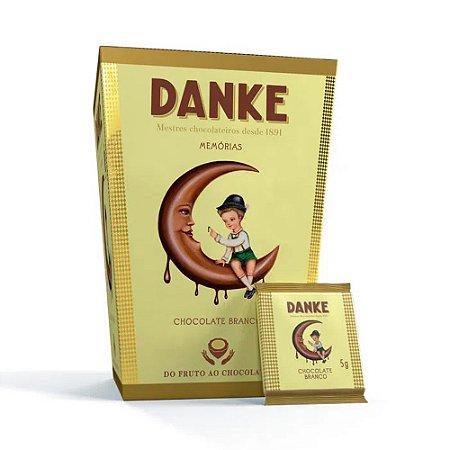 Mini Barras de Chocolate Danke Branco 150g