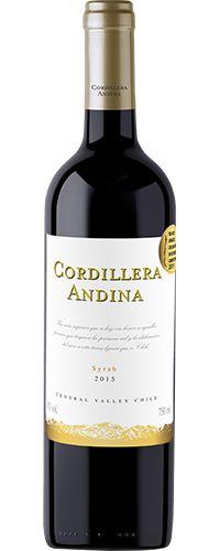 CORDILLERA ANDINA SYRAH 750ml