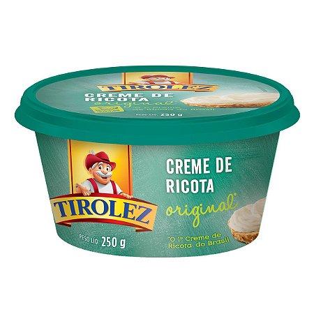 CREME DE RICOTA TIROLEZ 250G
