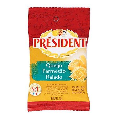 QUEIJO PARMESAO RALADO PRESIDENT 50G
