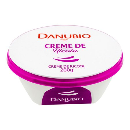 CREME DE RICOTA DANUBIO 200G
