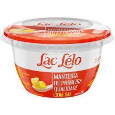 MANTEIGA COM SAL LAC LELO 200G