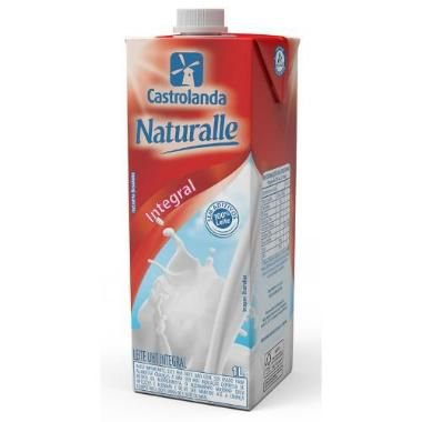 LEITE UHT NATURALLE INTEGRAL 1L