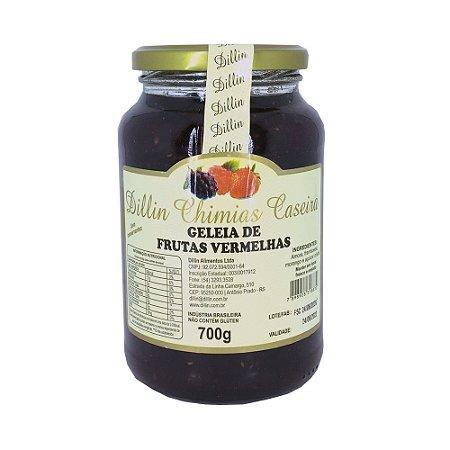 Geleia Dillin Chimias de Frutas Vermelhas 700g