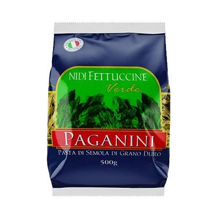 Massa Fettuccine Verde Paganini 500g