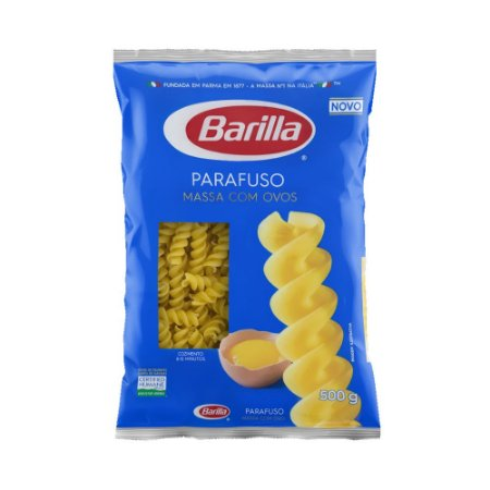 Massa Barilla Parafuso com Ovos 500g