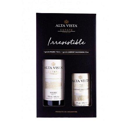 Vinho Alta Vista Kit Malbec / Cabernet 375 ml