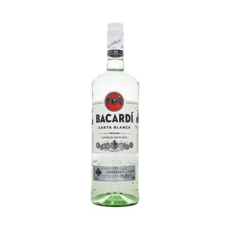 Rum Bacardi Superior Carta Blanca 980 ML