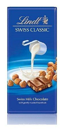 CHOCOLATE AO LEITE COM AVELAS LINDT 100G