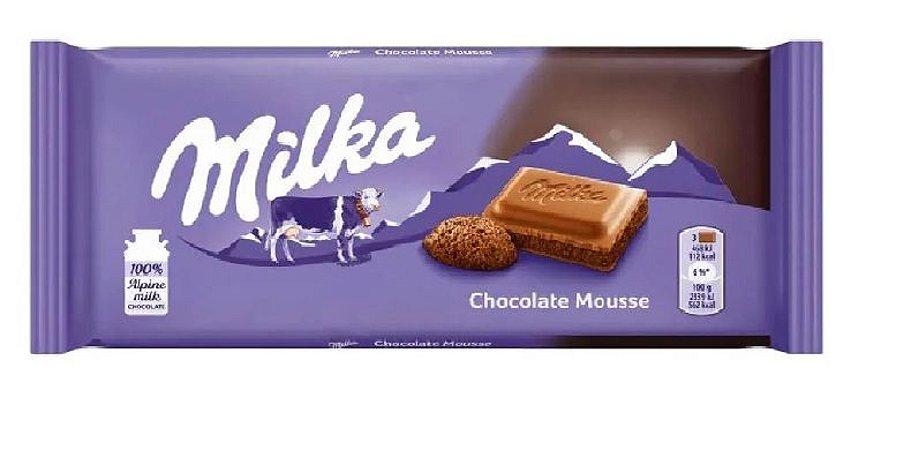 MILKA MOUSSE 100G