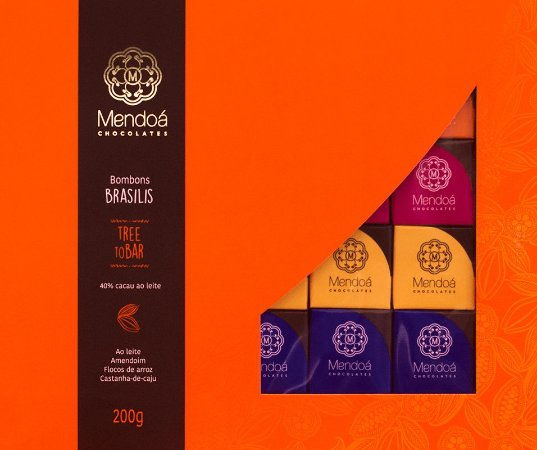 CHOCOLATE BRASILIS TREE TO BAR MENDOA 200G