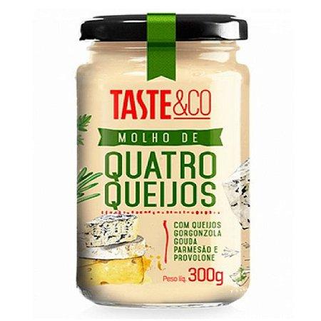 MOLHO DE 4 QUEIJOS TASTE 300G