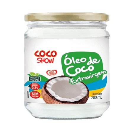 OLEO DE COCO COPRA EXTRA VIRGEM COCO SHOW 200ML