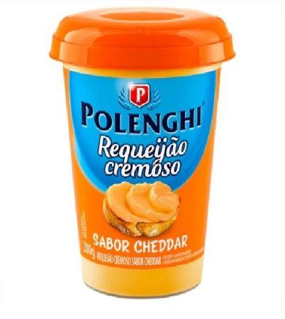 COPO CREMOSO CHEDDAR POLENGHI 200G