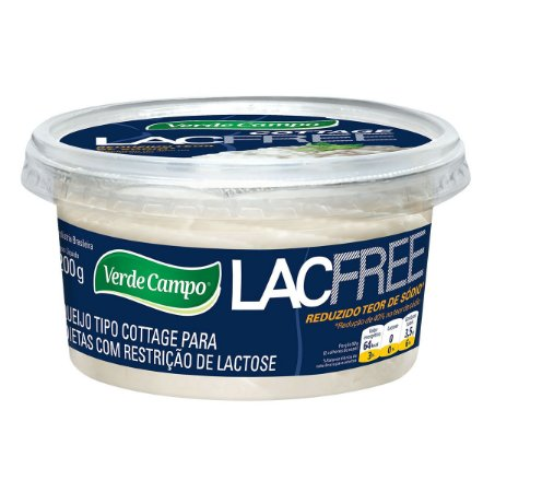 QUEIJO COTTAGE LACFREE 200G