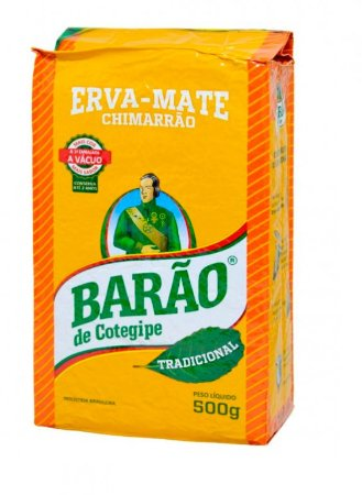 ERVA MATE TRADICIONAL VACUO BARAO DE COTEGIPE 500G