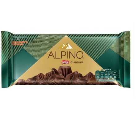 CHOCOLATE ALPINO GIANDUIA 90G