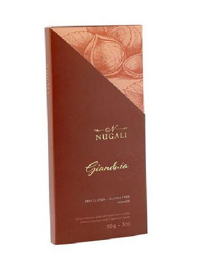 CHOCOLATE AO LEITE GIANDUIA NUGALI 85G