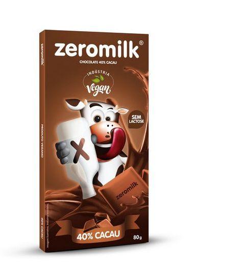 CHOCOLATE ZEROMILK PURO 80G