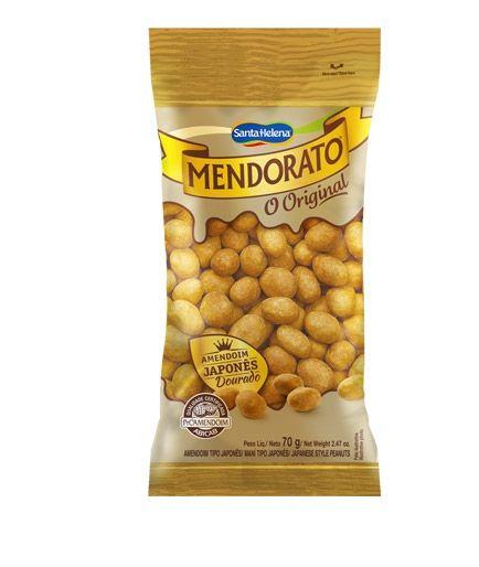 AMENDOIM JAPONES MENDORATO SANTA HELENA 70G
