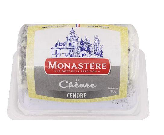 Queijo Buchette de Cabra com Cinzas Monastere100g