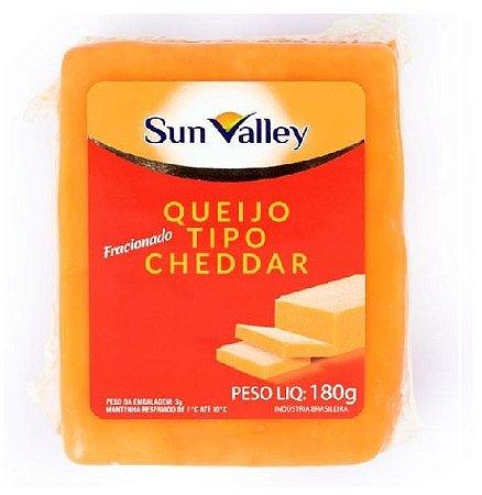 QUEIJO TIPO CHEDDAR SUN VALLEY 180G
