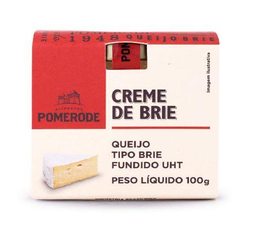 CREME DE BRIE POMERODE 100G