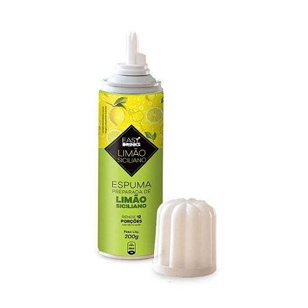 Espuma Easy Drinks Sabor Limão Siciliano 200g