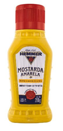 MOSTARDA AMARELA HEMMER 200G