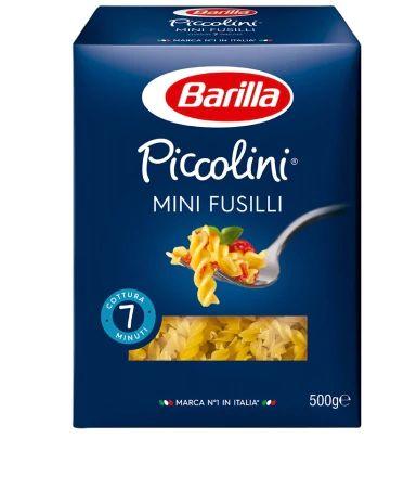 MASSA BARILLA MINI FUSILLI 500G