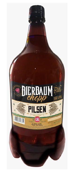 CHOPP BIERBAUM PILSEN PET 1,5L