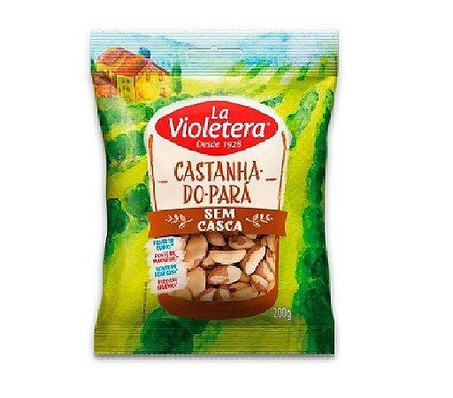 CASTANHA DO PARA SEM CASCA LA VIOLETERA 100G