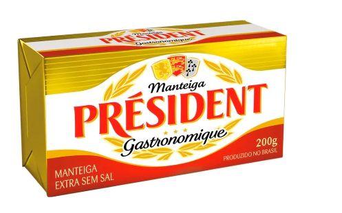 MANTEIGA SEM SAL PRESIDENT 200G
