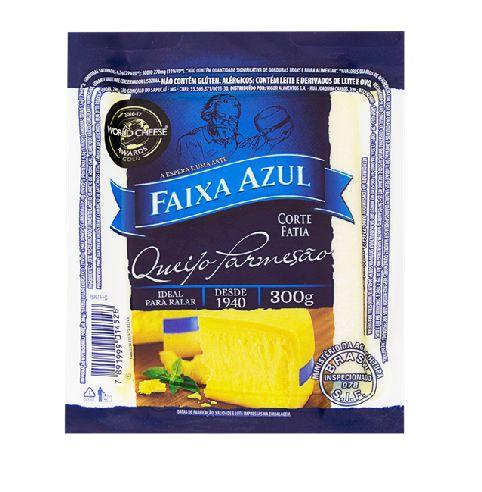 QUEIJO PARMESAO FAIXA AZUL PEÇA 300G