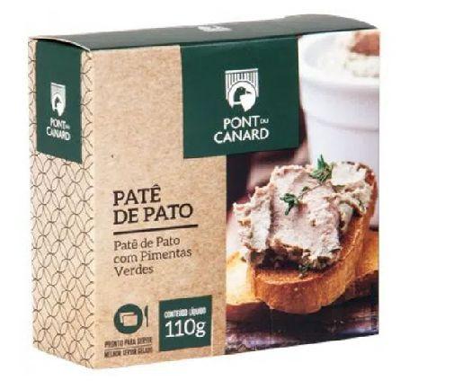 PATE DE FIGADO DE PATO COM PIMENTA VERDE PONT DU CANARD 110G