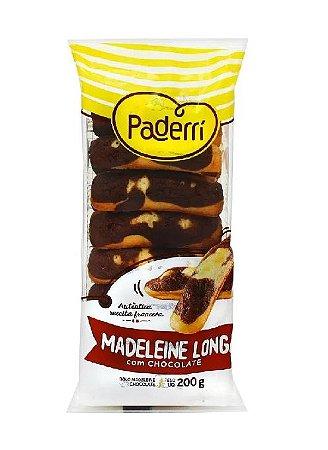 MADELEINE LONGA COM CHOCOLATE PADERRI 200G