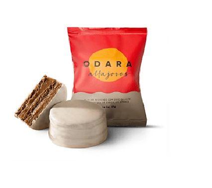 ALFAJOR ODARA CHOCOLATE BRANCO 65G