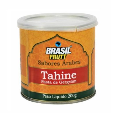 TAHINE  PASTA DE GERGELIM LATA BRASIL FRUTT 200G