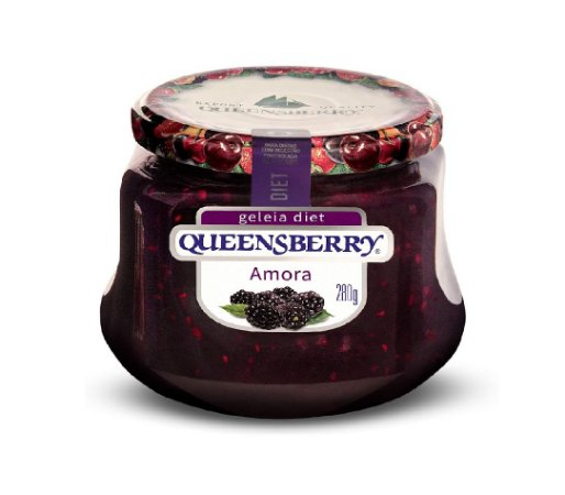 GELEIA DE AMORA DIET QUEENSBERRY 280G