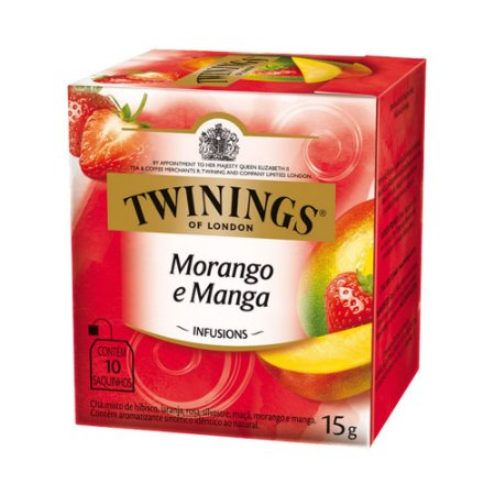 Chá Twinings Morango e Manga 15g
