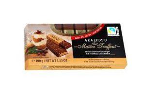 CHOCOLATE FINGERS SABOR TIRAMISU MAITRE 100G